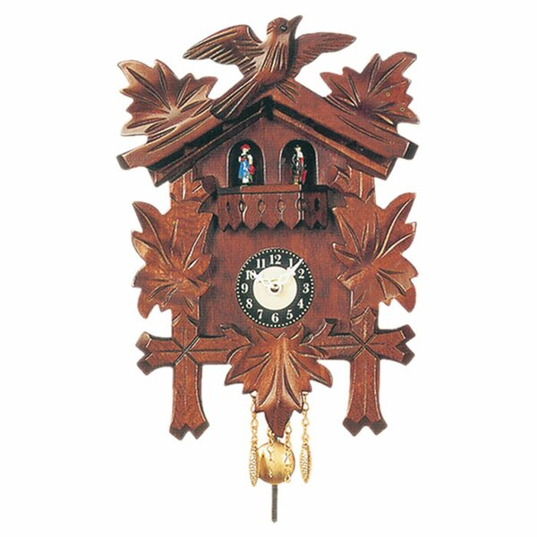 Carved Cuckoo Clock by Black Forest