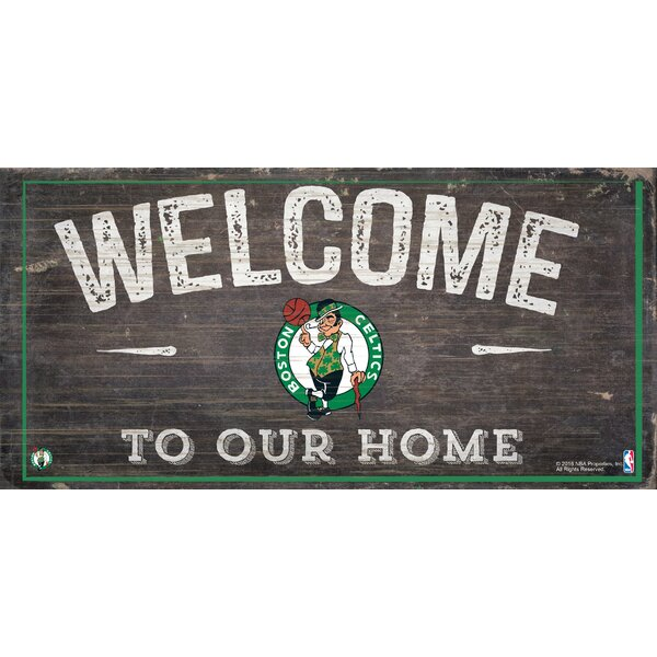 NBA Welcome Sign Wall Décor by Fan Creations