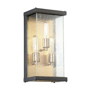 Anguiano 3 Light Outdoor Wall Lantern
