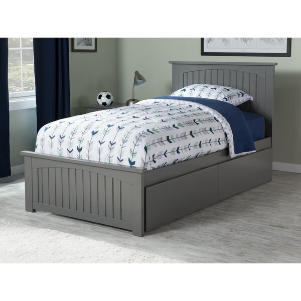 Amodio Platform Bed with Drawers by Mack & Milo