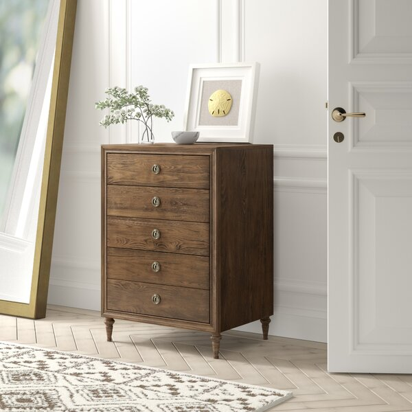 Knollwood 5 Drawer Chest by Greyleigh