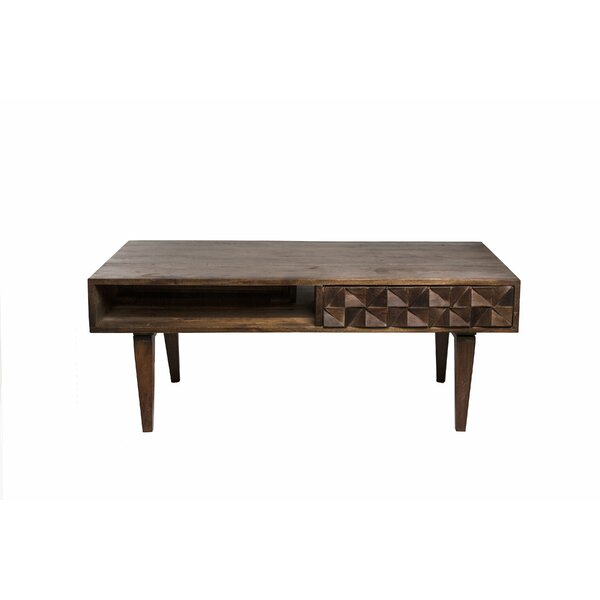 Clare Coffee Table with Storage by Corrigan Studio