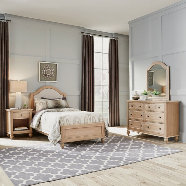 Romford Standard 3 Piece Bedroom Set by Three Posts