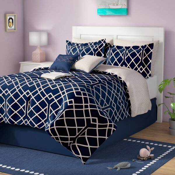 Beryl Reversible Comforter Set by Zipcode Design