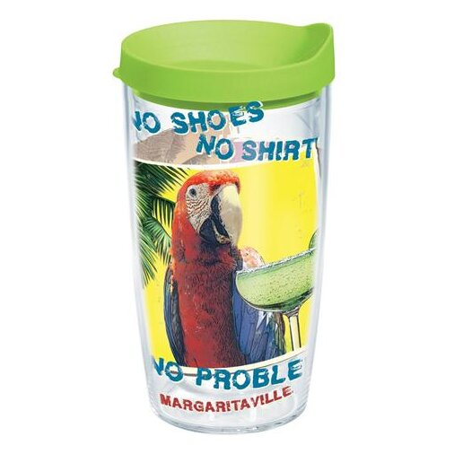Margaritaville No Problems Plastic Travel Tumbler by Tervis Tumbler
