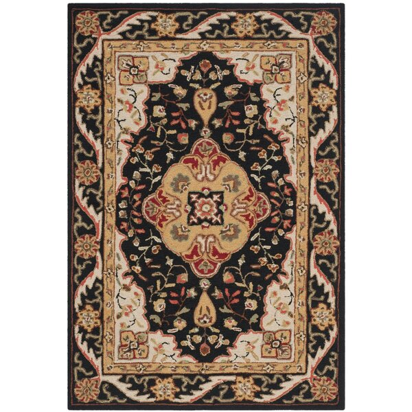 Bryonhall Hand Hooked Area Rug by Charlton Home