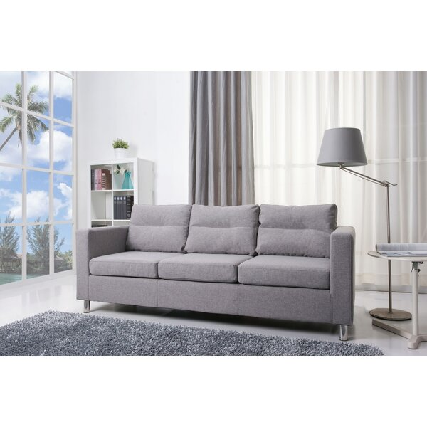 Get Valuable Clarence Sofa by Wade Logan by Wade Logan