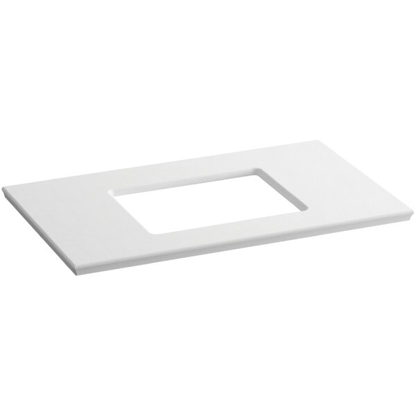 Solid/Expressions 37 Single Bathroom Vanity Top by Kohler