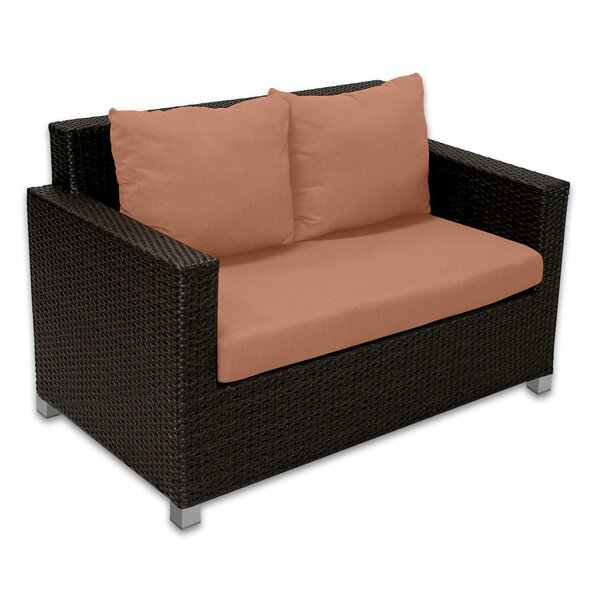 Skye Venice Loveseat with Cushions by Patio Heaven