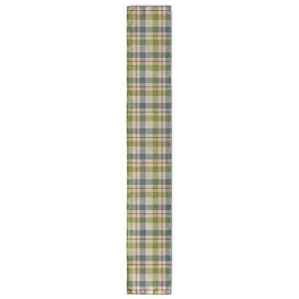Warner Plaid Table Runner by Loon Peak