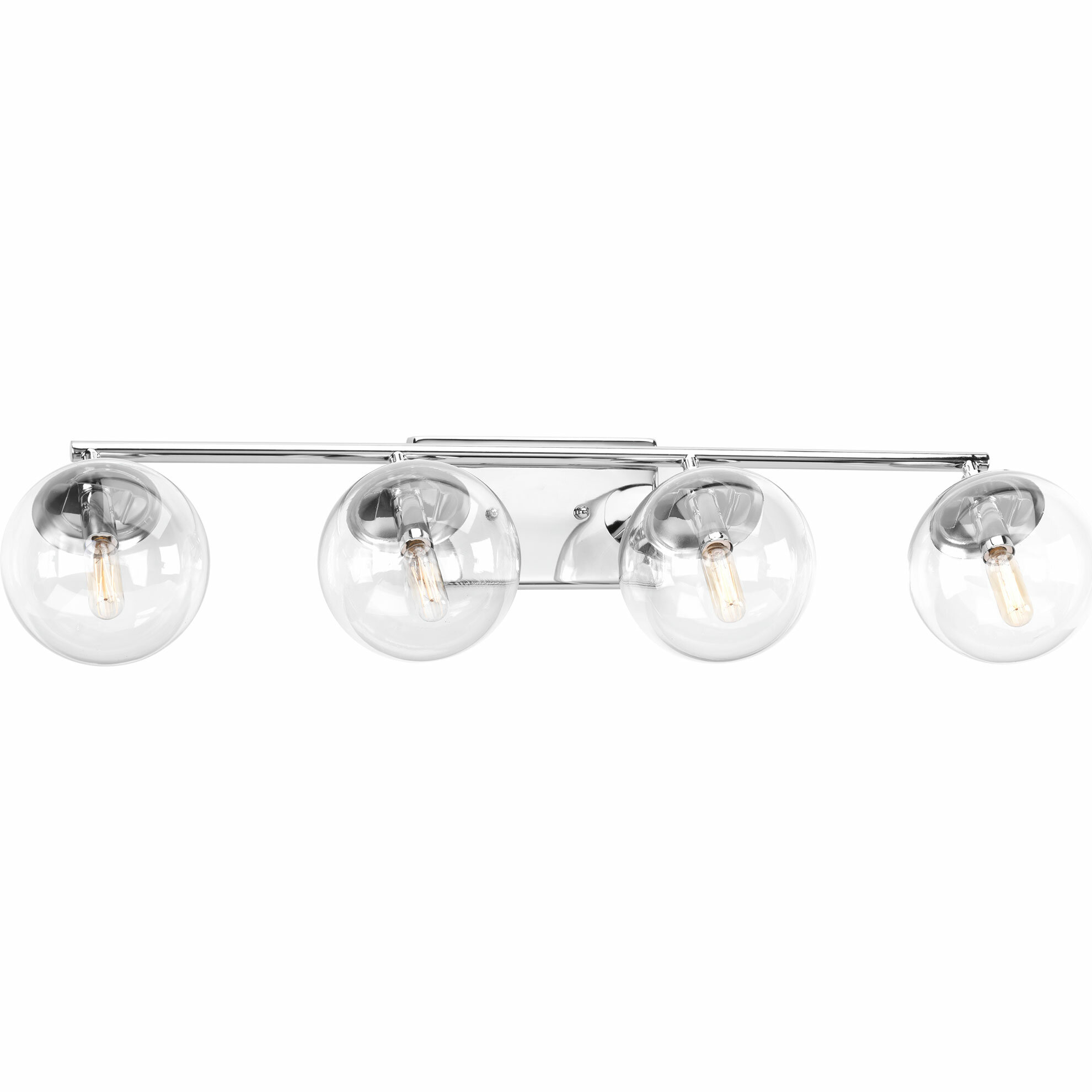 Byrd 4 Light Dimmable Polished Chrome