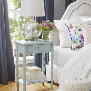Ike 1 Drawer Nightstand by Beachcrest Home