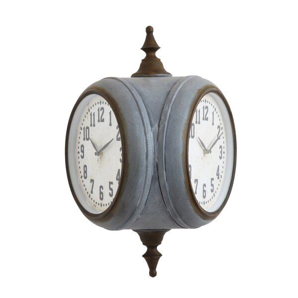 Dakoda Iron Wall Clock by 17 Stories