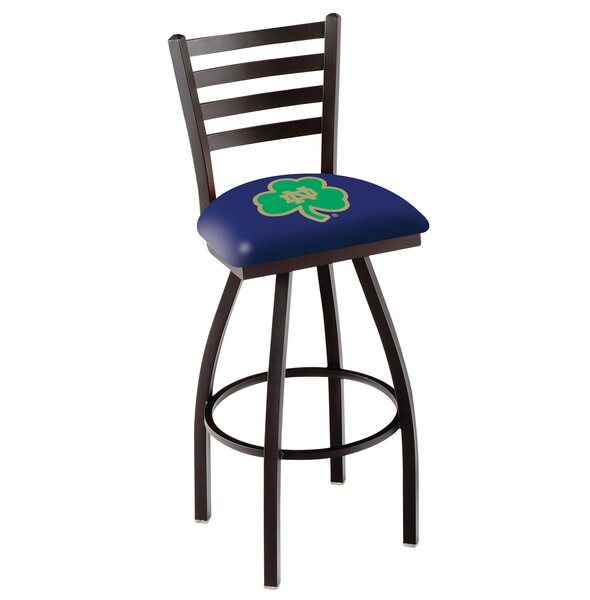 NCAA 39 Swivel Bar Stool by Holland Bar Stool