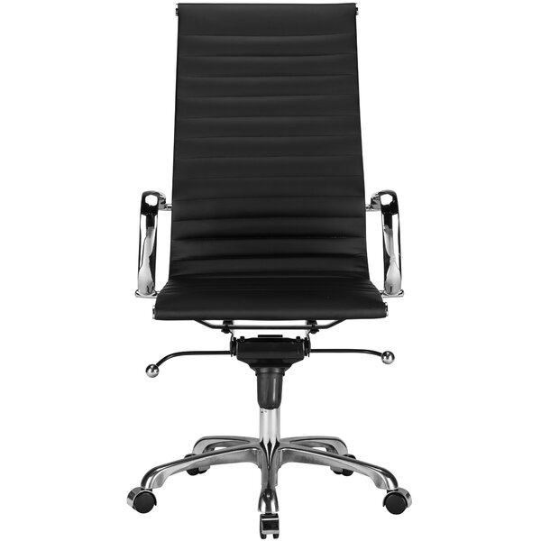 Ribbed High-Back Desk Chair by Edgemod