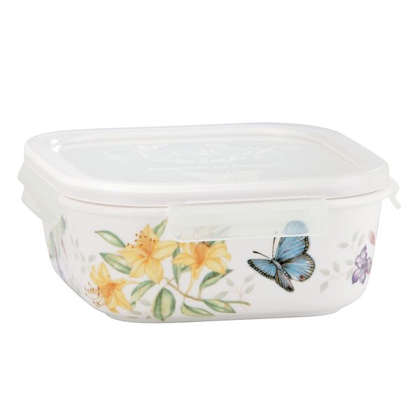 Butterfly Meadow Food Storage Container by Lenox