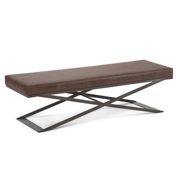 Teulon Upholstered Bench by Latitude Run Latitude Run