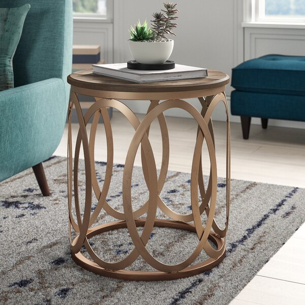 Bleich End Table by Modern Rustic Interiors