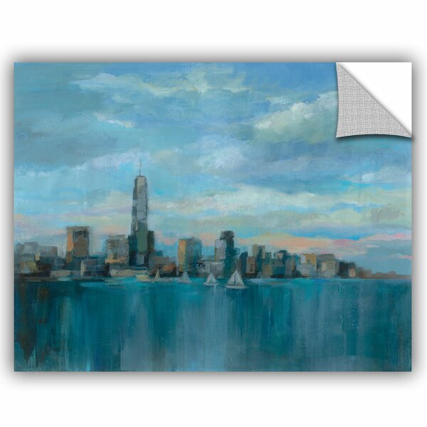 Silvia Vassileva Manhattan Tower of Hope Wall Decal by ArtWall