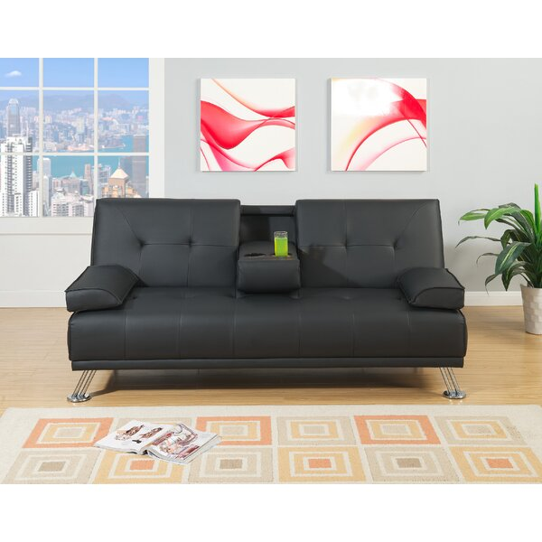 Dansby Adjustable Convertible Sofa by Wrought Studio
