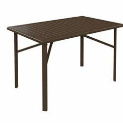 Banchetto Metal Bar Table by Tropitone Tropitone