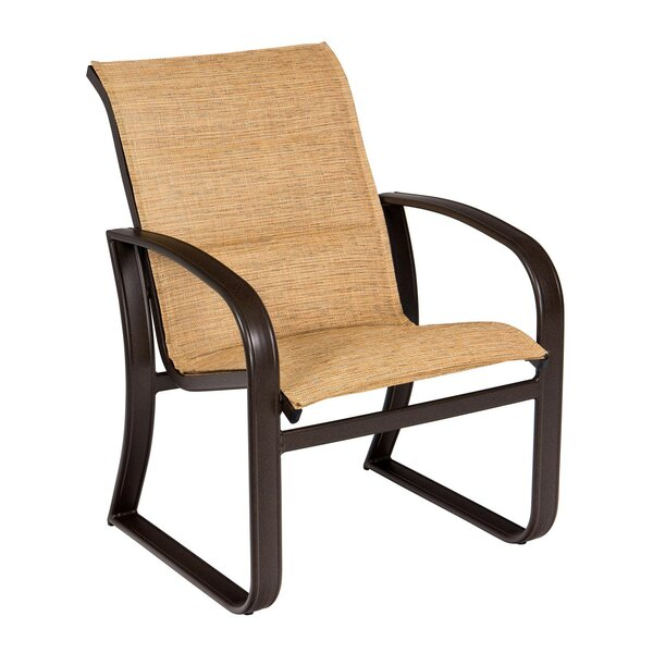 Cayman Isle Sling Patio Dining Chair by Woodard