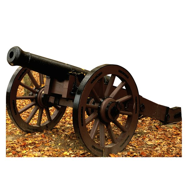 Civil War Cannon Cardboard Cutout Stand-Up by Advanced Graphics