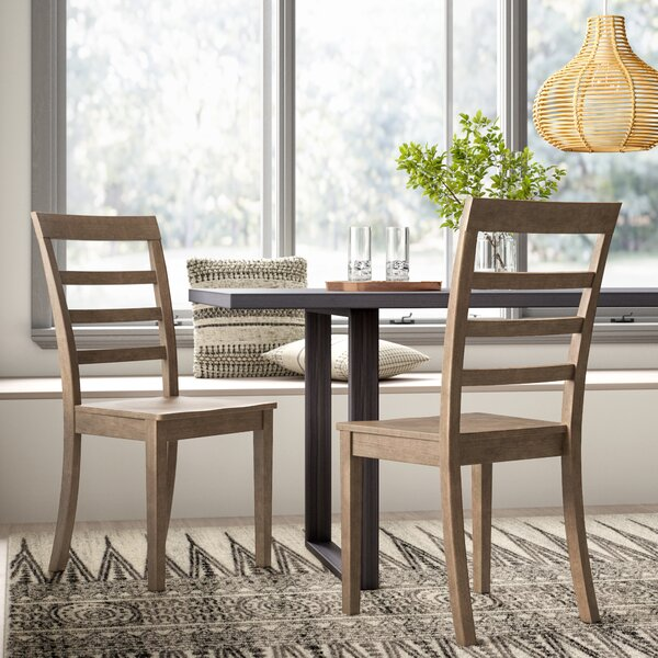 Jarvis Solid Wood Dining Chair (Set of 2) by Mistana