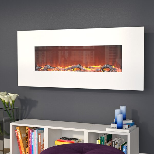 Lauderhill Wall Mounted Electric Fireplace by Zipcode Design