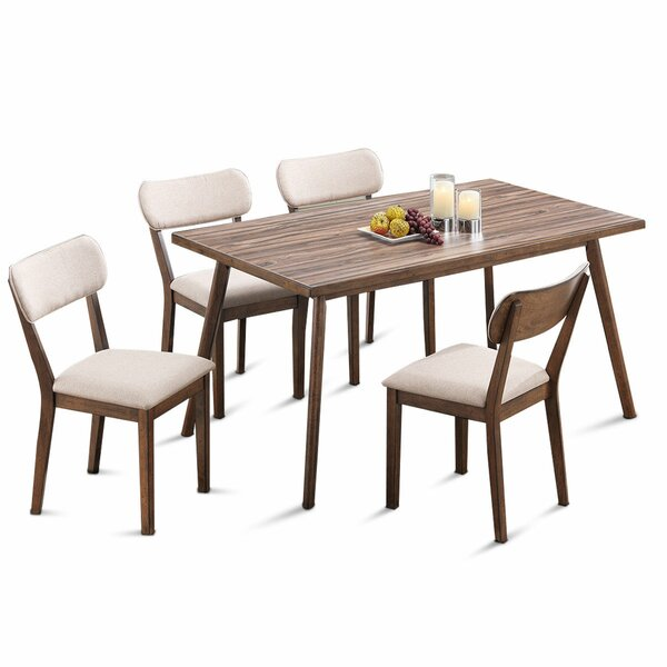 Eatmon 5 Piece Dining Set by George Oliver