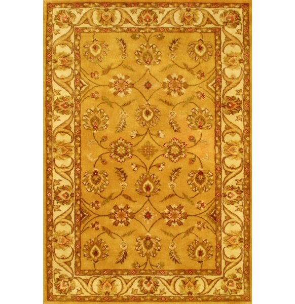 Skinner Gold Area Rug by Astoria Grand