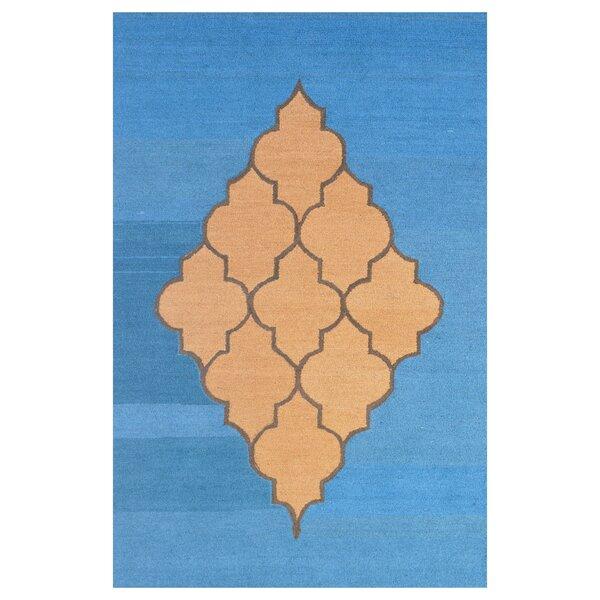 Wool Hand-Tufted Blue/Brown Area Rug by Eastern Weavers