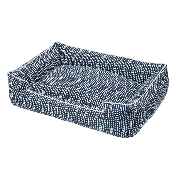 Pearl Navy Cotton Blend Lounge Bed by Jax & Bones