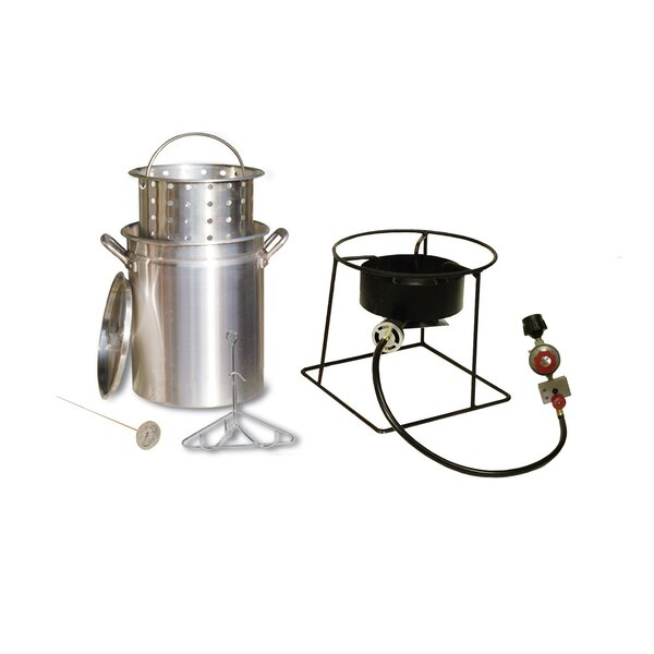 Turkey Fryer and Steamer Outdoor Cooker Package by King Kooker