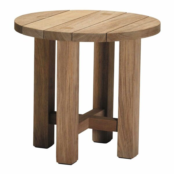 Croquet Teak Side Table by Summer Classics