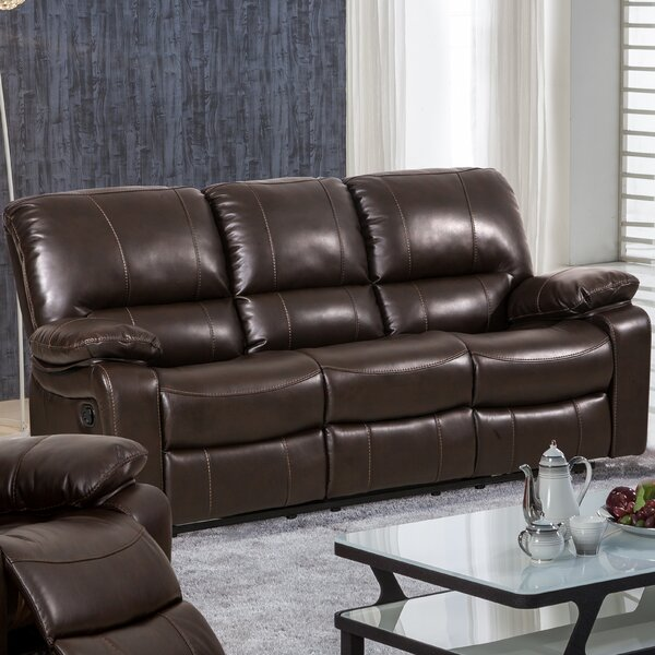 Chic Style Koval Reclining Sofa Surprise! 55% Off