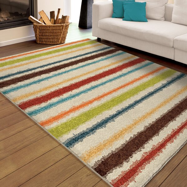 Maureen Cream Area Rug by Threadbind