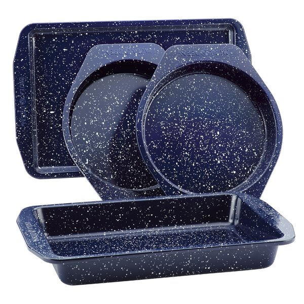 Speckled 4 Piece Non-Stick Bakeware Set by Paula Deen