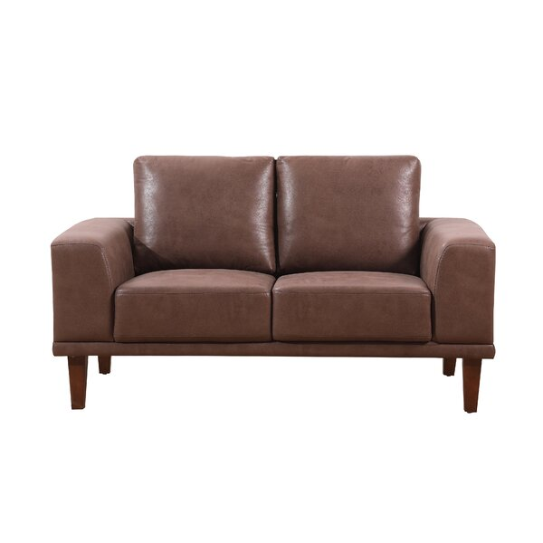 Church Modern Luxurious Loveseat by Wade Logan