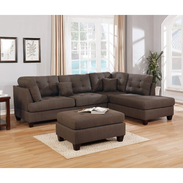 Morrigan Reversible Sectional with Ottoman by Red Barrel Studio