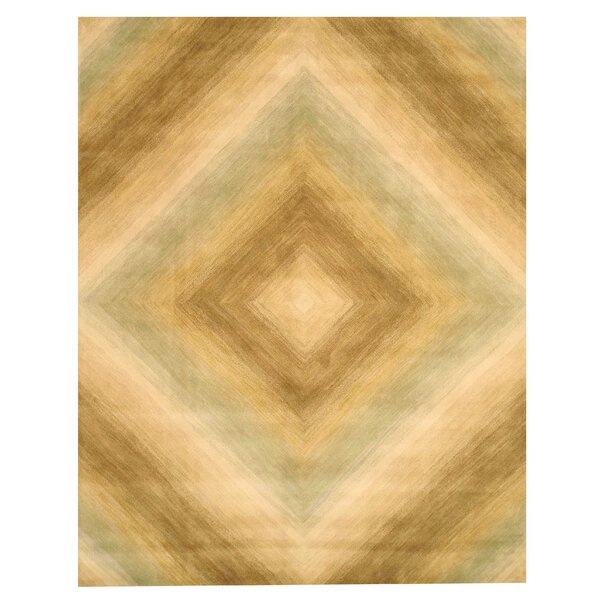 Kinton Hand-Tufted Sand Area Rug by The Conestoga Trading Co.
