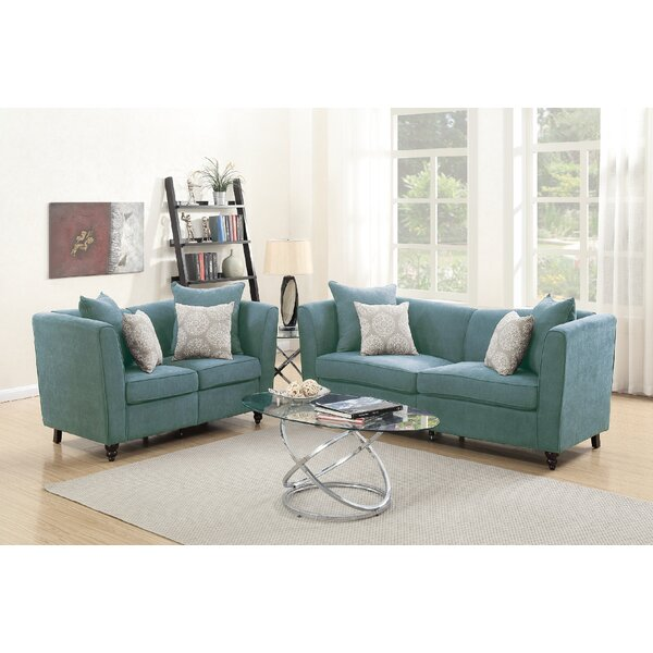 #2 Moorehead 2 Piece Living Room Set By House Of Hampton Today Only Sale