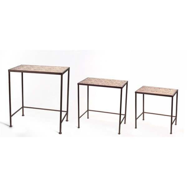 3 Piece Nesting Tables by Melrose International