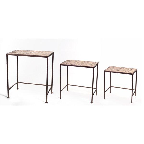 3 Piece Nesting Tables by Melrose International
