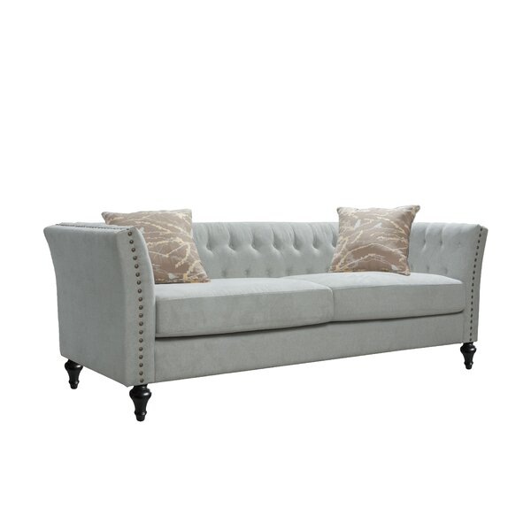 Speier Tufted Sofa by Charlton Home