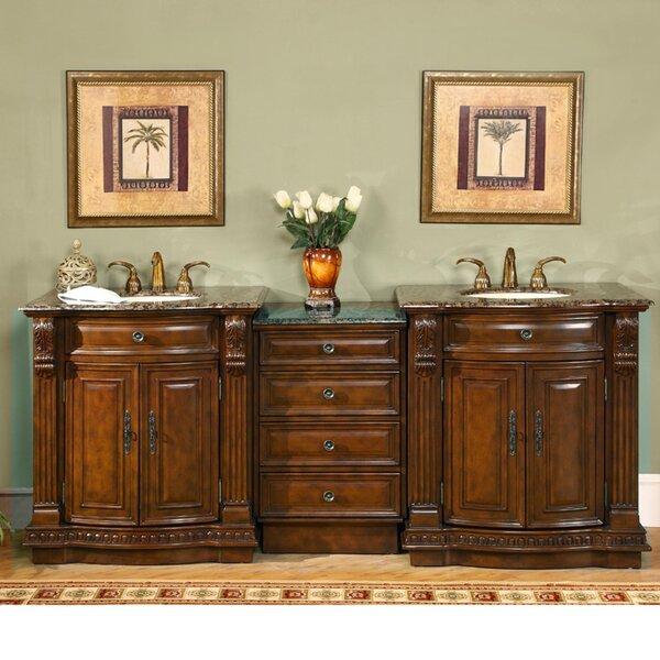 Emelia 85 Double Bathroom Vanity Set
