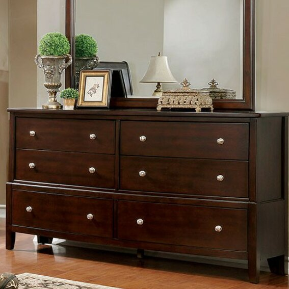 Allena 6 Drawer Double Dresser by Darby Home Co