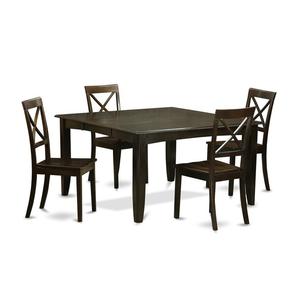 Pilning Modern 5 Piece Dinning Set by August Grove