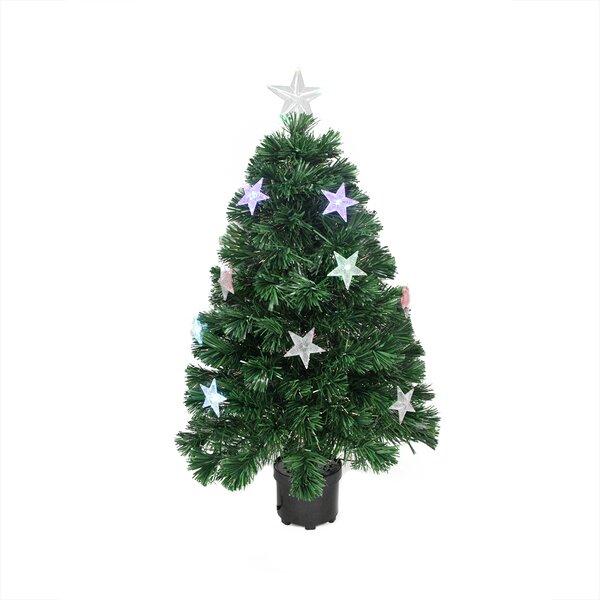 - Fiber Optic Poinsettia Tree Wayfair