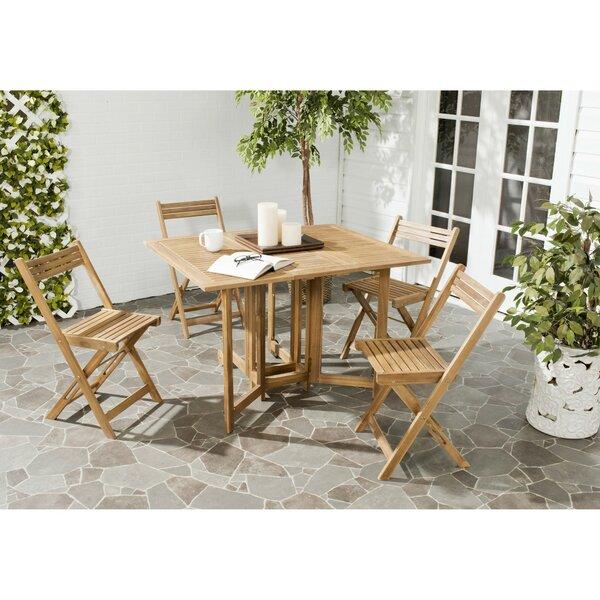 Laoise Gardens 5 Piece Dining Set